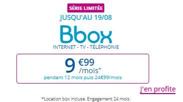 BBOX Bouygues Telecom en promo