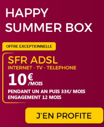 Happy Summer BOX SFR ADSL