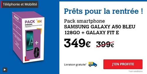 Pack Samsung Darty en promo