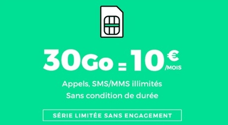 RED by SFR, vente privée, forfait mobile