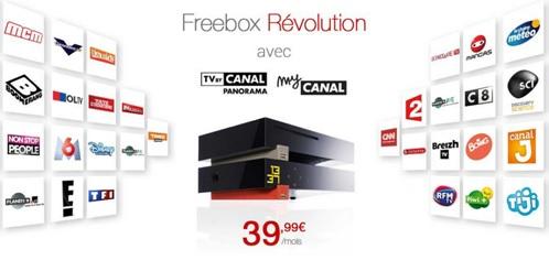 freebox révolution, free