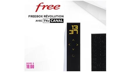 vente privée, freebox révolution, free