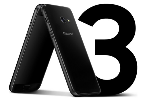 samsung, galaxy A3 2017, mobile