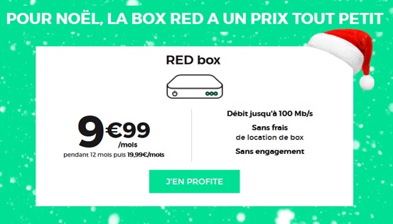 red by sfr, promo, red box fibre