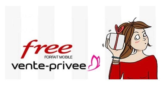 Top départ pour la vente privée Free Mobile : Le forfait illimité 100Go à moins de 1 euro