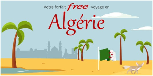 Free Mobile ajoute l'Algérie en roaming et tacle Orange