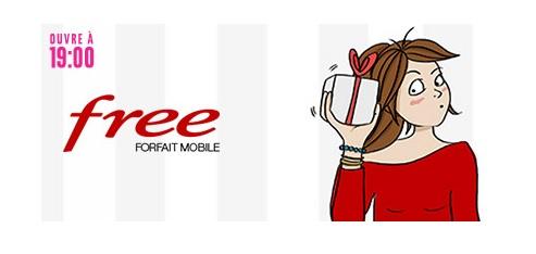 Nouvelle vente privée Free Mobile, forfaits 100Go ... Les infos du jour