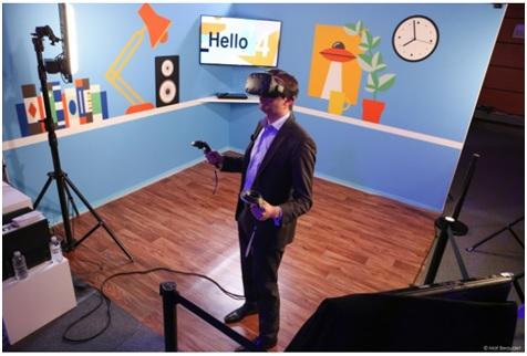 orange, réalité virtuelle