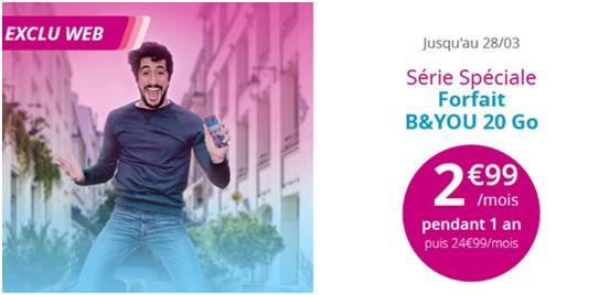 bouygues telecom, série spéciale, b&you