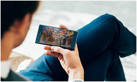 sony xperia xz, smartphone