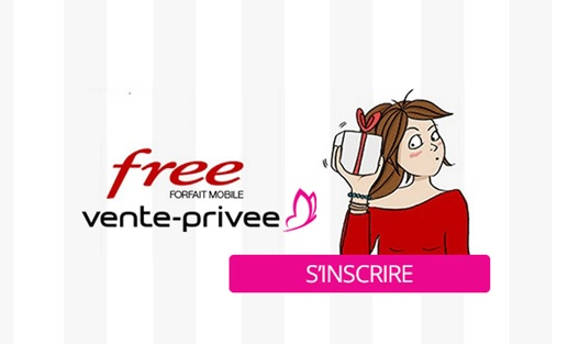 vente privée, free mobile