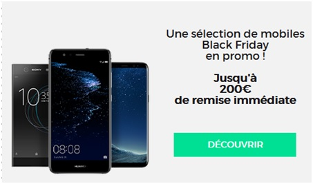 red by sfr, smartphone