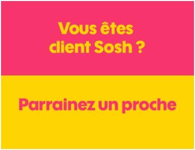 sosh, parrainage