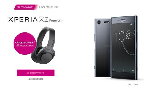 sony, xperia xz premium, bouygues telecom