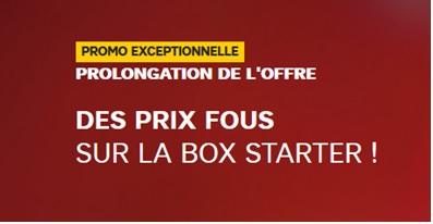 Prolongation de l'offre Box Starter à 4.99 euros chez SFR