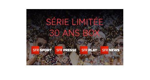 SFR, série limitée 30 ans, box