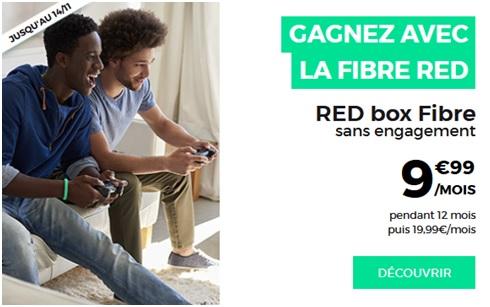 red by sfr, fibre, tr�s haut d�bit