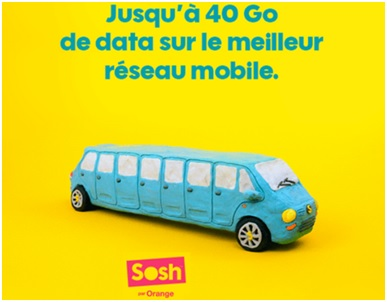 sosh, orange, forfait mobile