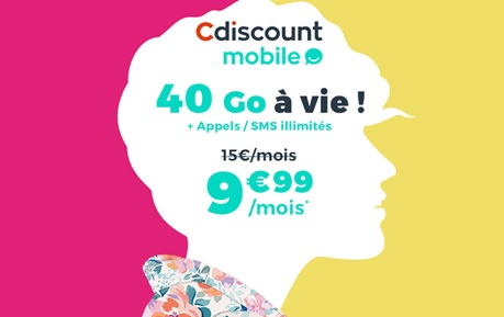 cdiscount mobile, promo, forfait