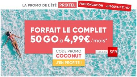 Prixtel, promo, forfait mobile