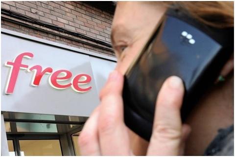 Free, opérateur de téléphonie, repasse devant SFR dans le fixe en France