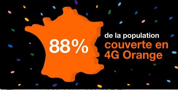 Réseau 4G : Orange en tête couvre 88% de la population