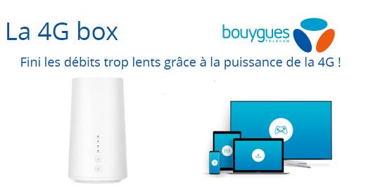 Internet à toute vitesse : Venez tester la 4G BOX de Bouygues Telecom