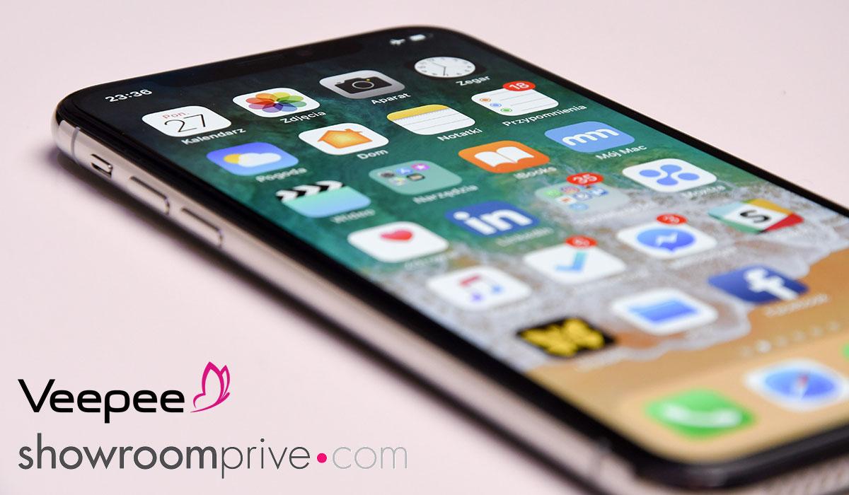 Vente privée Iphone et Ipad  reconditionnés chez Showroomprivé et Veepee