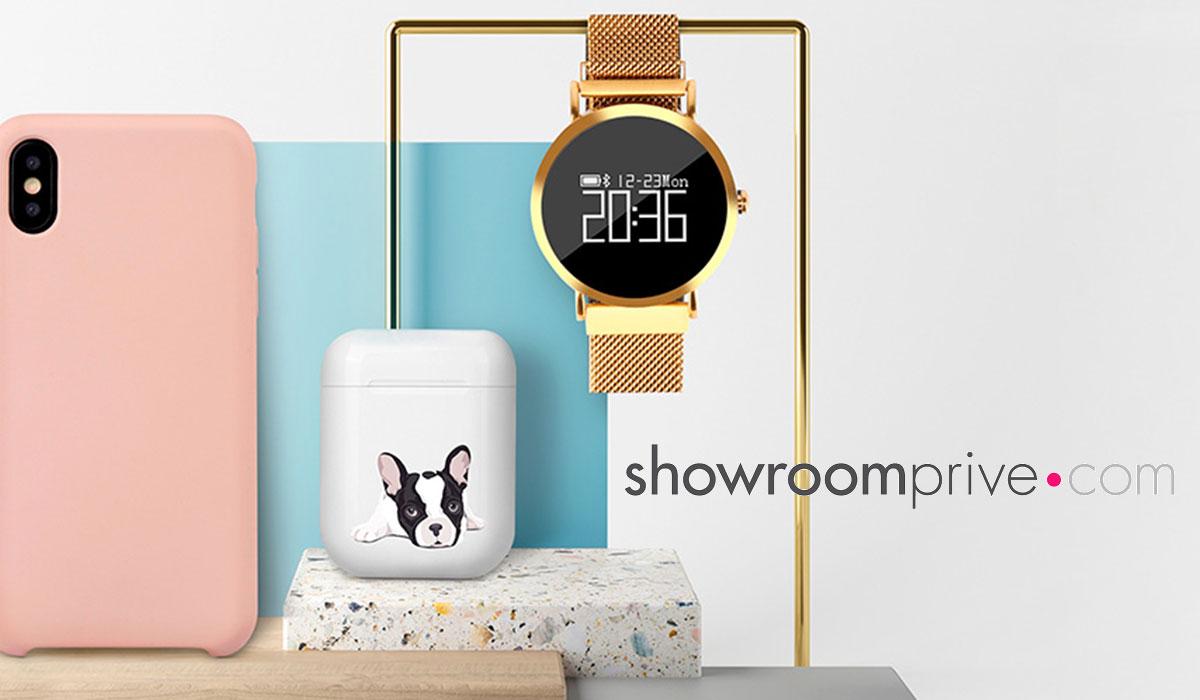 Vente privée d'accessoires Samsung, Iphone et sélection de montres connectées chez Showroomprivé