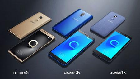 Image des 3 nouvelles gammes d'Alcatel