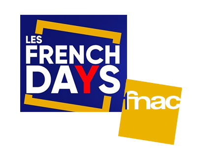 Logo french days et logo fnac