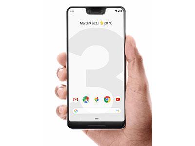 Le Google Pixel 3 de face