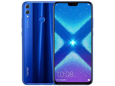 Le Honor 8X de face et de dos