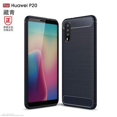 Le Huawei P20 de face et de dos