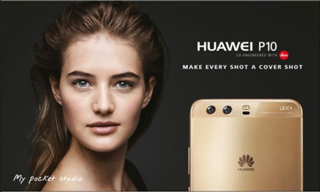 photo du huawei p10