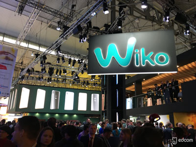 Stand Wiko au MWC