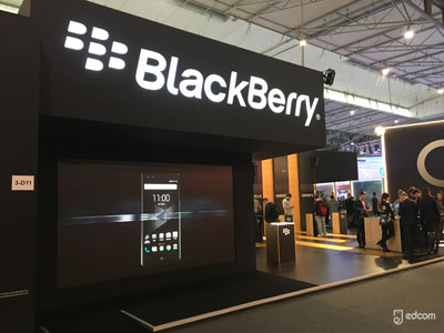 Logo BlackBerry au MWC