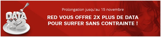 double data, forfait red by sfr
