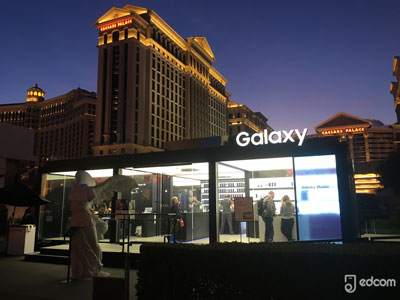 Image stand Galaxy au CES 2018