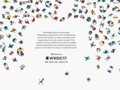 Carton officielle pour le WWDC 2017