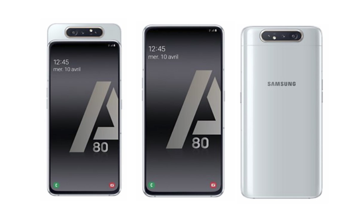 galaxy a80 vue de face