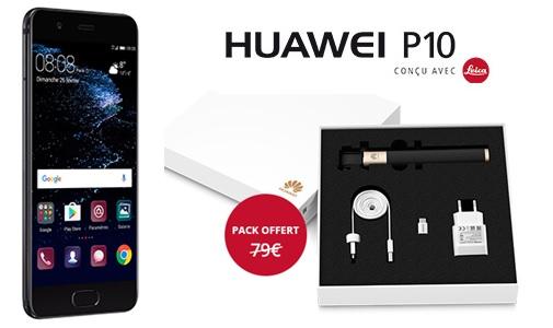 free mobile un pack de 4 accessoires offert pour l achat d un huawei p10. Black Bedroom Furniture Sets. Home Design Ideas