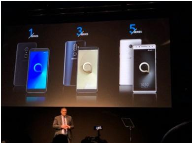 MWC 2018 : Alcatel présente 6 Smartphones aux écrans 18 :9 à petit prix