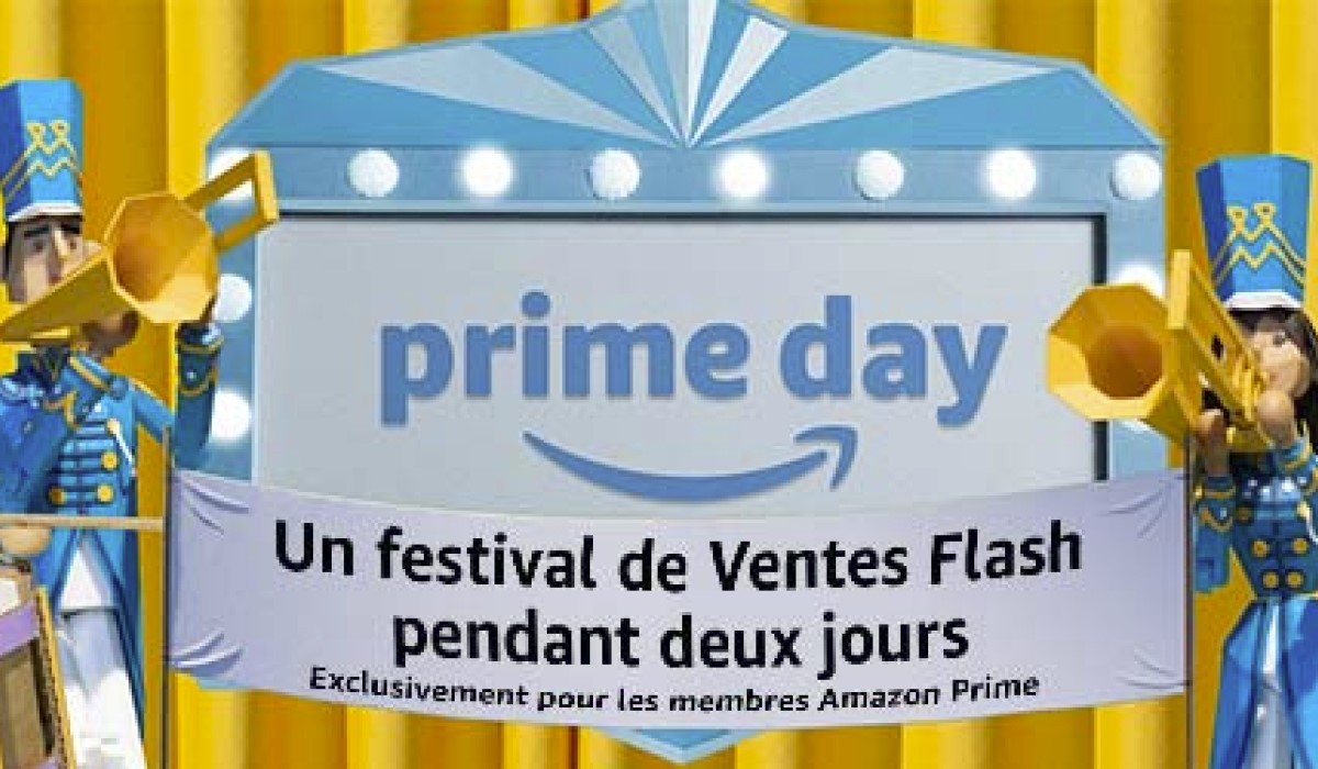 visuel amazon prime day