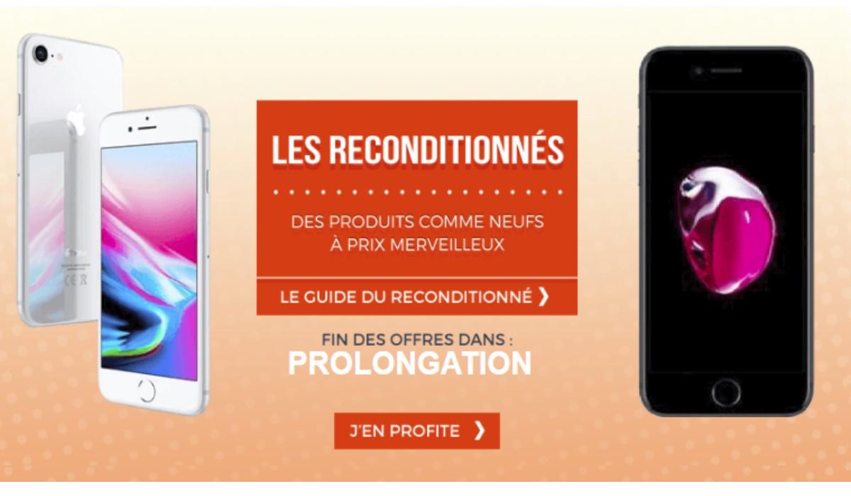 Promos Cdiscount : les iPhones 7 et 8 reconditionnés à prix imbattable !