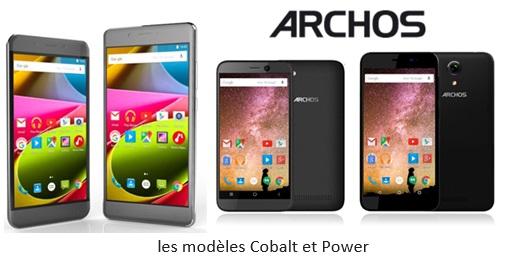 Archos présente ses nouvelles gammes de Smartphones Coblat et Power !