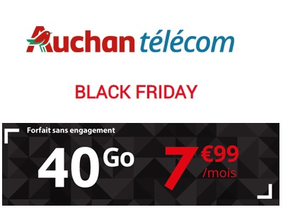 Black Friday 2018 Auchan Telecom