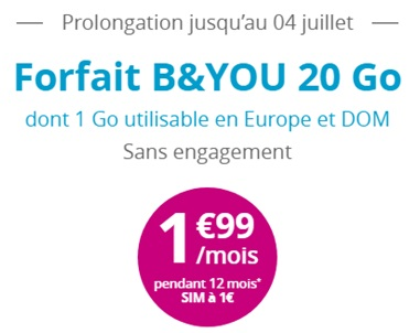 bouygues telecom le forfait b you 20go france forum mobiles. Black Bedroom Furniture Sets. Home Design Ideas
