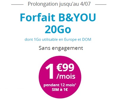 B and you 20go à 1.99€