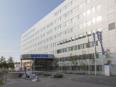 Un batiment Samsung